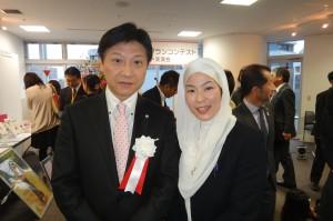 田辺静岡市長