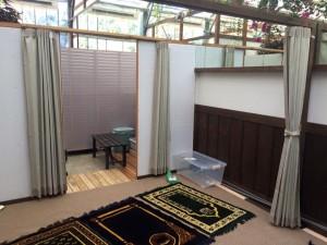 掛川花鳥園礼拝室